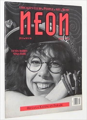 neon magazine july august 1990 lynda barry ninja babe