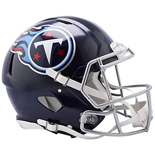 (Riddell NFL Tennessee Titans Authentic Full Size Speed Style Helmet, Team Colors, One Size)