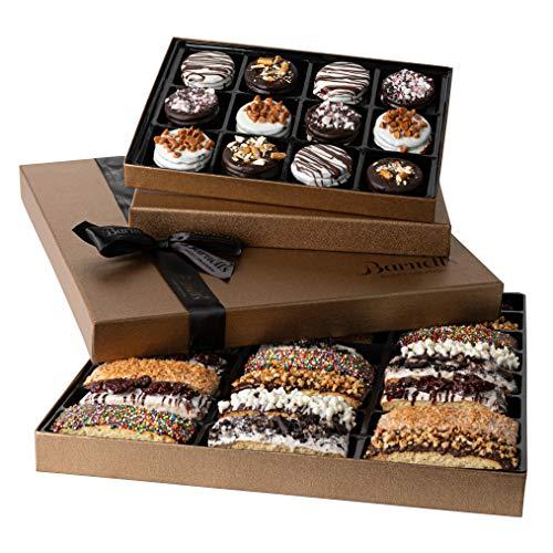 Barnett's Chocolate Cookies Biscotti