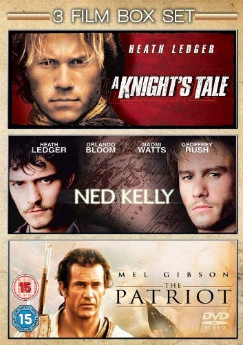 Ned Kelly / A Knight's Tale / The Patriot [Import anglais]