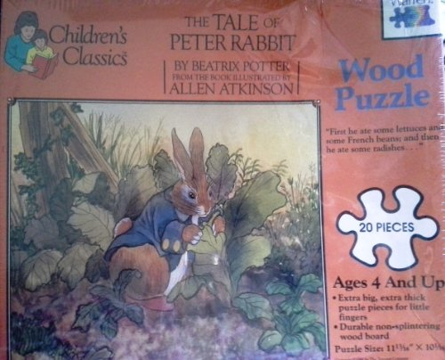 The Tale of Peter Rabbit Wood Puzzle 20 PCS