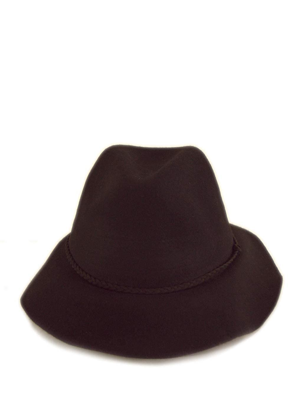 Lovedusts Womens 100/% Wool Felt Cloche Short Brim Floppy Fedora Hat with Gift