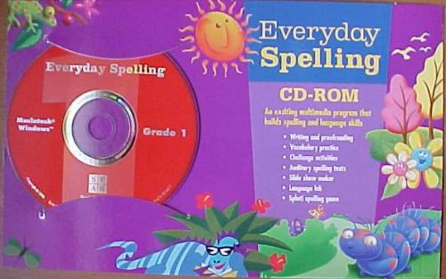Everyday Spelling Grade 1 CD-ROM