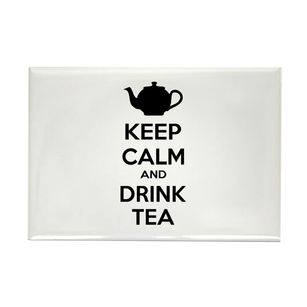 Keep Calm and Drink On Coffee Cup Rectangle Refrigerator Magnet
