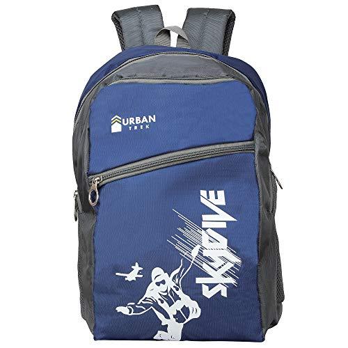 Urban Trek Polyester 30 L Spacious Comfort Casual Backpack Laptop Bag  Blue, 30L