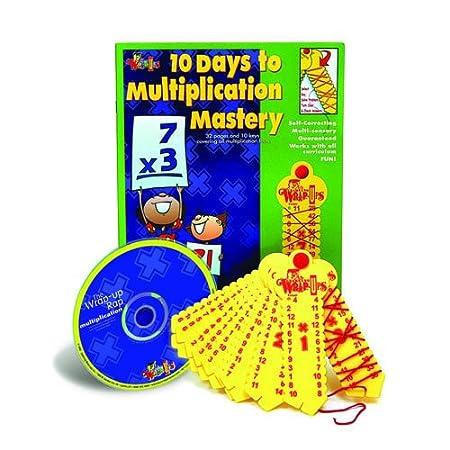 Amazon.com: Multiplication Mastery Kit w/CD: Toys & Games