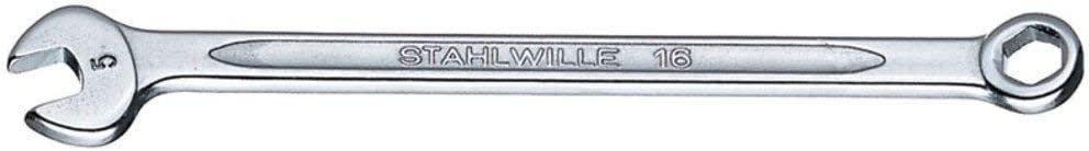 Silver Stahlwille STW1635MM 1635MM Combination Spanner 3.5mm 3.5 mm