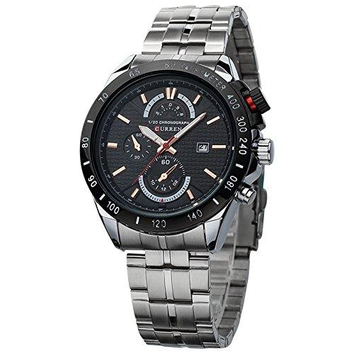 Marca Karui En Reloj de pulsera baratos venta hombres de negocios Casual con una tira de calendario reloj de pulsera al por mayor: Amazon.es: Relojes
