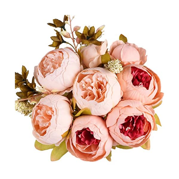 Ogrmar-Vintage-Artificial-Peony-Silk-Flowers-Bouquet-for-Home-and-Wedding-Decoration