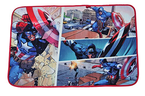 Marvel Captain America Avengers Rug product image