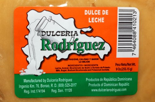 Amazon.com : Dominican Dessert Milk Fudge Sweet Dulce De Leche 6 Pack : Dominican Republic : Grocery & Gourmet Food