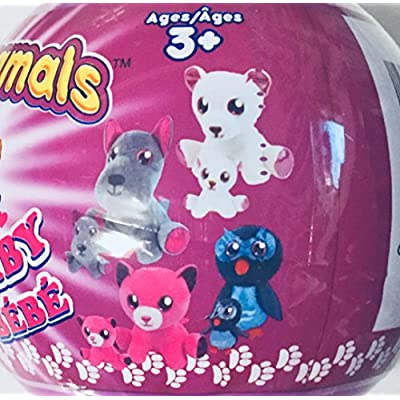Surprizamals Momma and Baby Mystery Plush Ball ( Styles Will Vary) 1 BALL …: Toys & Games