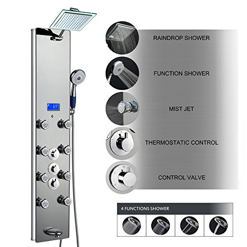 AKDY Tempered Multi Function Thermostatic Temperature