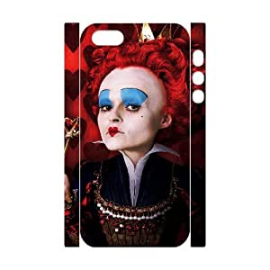 I-Cu-Le Cell phone Protection Cover 3D Case Alice in Wonderland For Iphone 5,5S