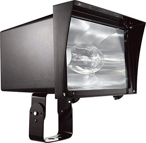 RAB Lighting FZH350PSQ Floodzilla 350W Mh PSQT HPF Pulse Start and Lamp Trunnion, Bronze