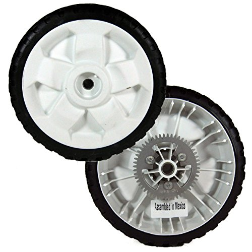 Toro 119-3822 Drive Wheel 8 Inch With Metal Gear(Set Of 2) by Toro