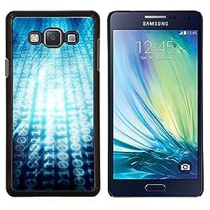 EJOOY---Cubierta de la caja de protección para la piel dura ** Samsung Galaxy A7 A7000 ** --00101101 Ascii Código Binari