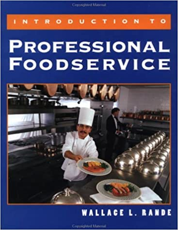 Book Introduction to Professional Foodservice