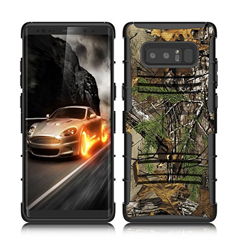 """Galaxy Note 8 Case, Venoro Heavy Duty Armor Holster Defender Full Body Protective Case Cover with Kickstand and Belt Swivel Clip for Samsung Galaxy Note 8 6.3"""" 2017 Release"""