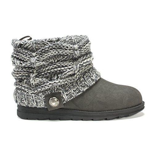 MUK LUKS Women's Patti Boots - Grey (6)