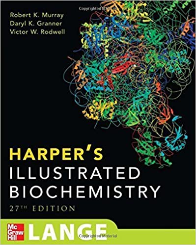 Harper's Illustrated Biochemistry (Harper's Biochemistry) 27th edition by Murray, Robert K., Granner, Darryl K., Mayes, Peter A., Rodw (2006)