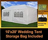 DELTA Canopy - 10'x20' Party Wedding Tent Gazebo Pavilion Catering Carport Shelter New