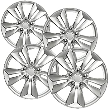 Amazon Com Oxgord Hub Caps For 99 15 Volkswagen Golf Style Wheel