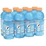 Gatorade G2 Thirst Quencher, Cool Blue, 20 ounce Bottles (Pack of 8)