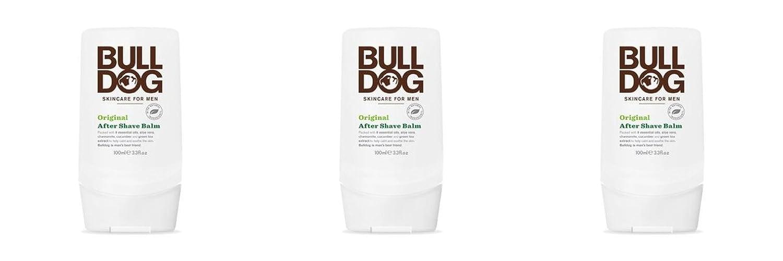 Bulldog Skincare for Men After Shave Bálsamo - 2 Paquetes de 100 ml - Total: 200 ml 78995