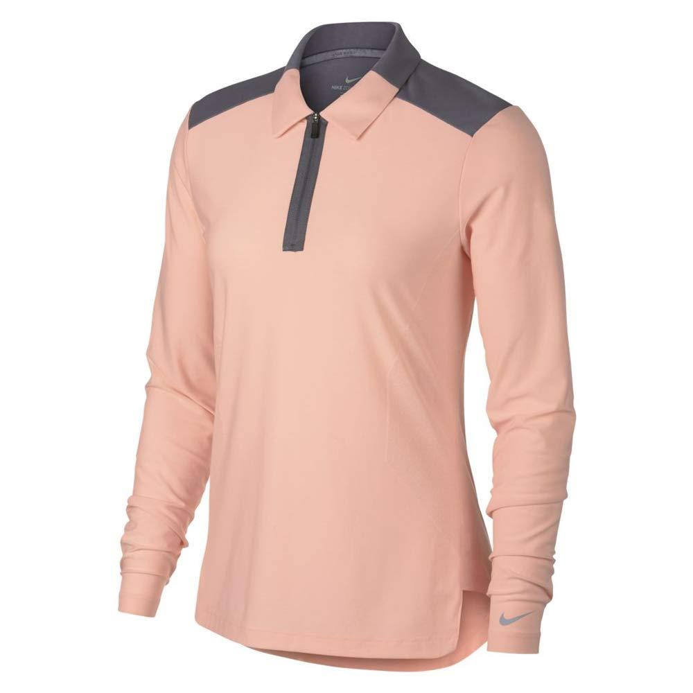 Nike 929378 Polo, Rosa (Rosa 646), Large (Tamaño del Fabricante:L ...
