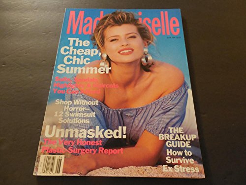 Mademoiselle Jun 1991 No Horror Swimsuit Shopping (Close Your - Shopping Close