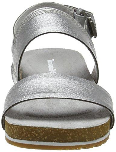 040 silver Mules Femme Slide Gris band Timberland Waves Malibu 2 86wgxOqz