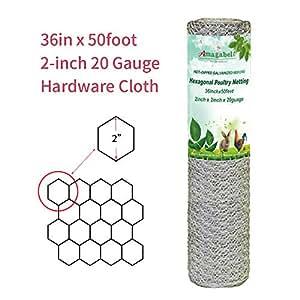 Amazon.com : 2 inch Hexagonal Poultry Netting Galvanized