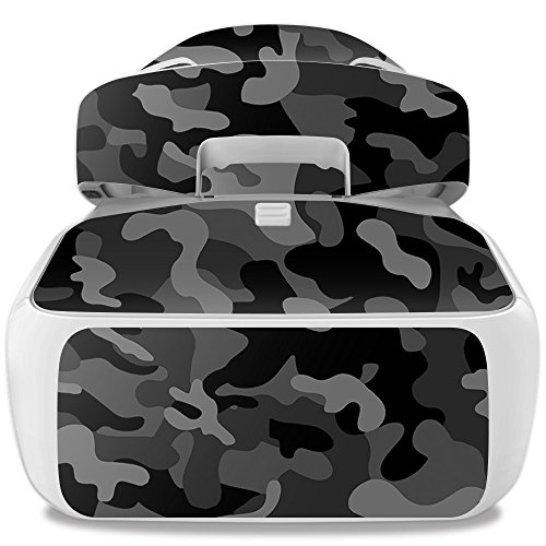 MightySkins Skin for DJI Goggles – Black Camo | Protective, Durable, and Unique Vinyl Decal wrap Cover | Easy to Apply, Remove, and Change Styles | Made in The USA