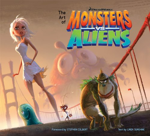 The Art of Monsters Vs. Aliens (Newmarket Pictorial Moviebook) -