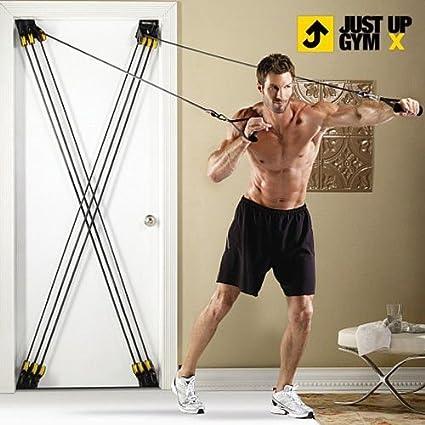 Tensores para Ejercicios Just Up Gym X: Amazon.es: Deportes ...