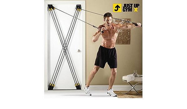 Tensores para Ejercicios Just Up Gym X: Amazon.es: Deportes y ...