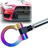 jdm mitsubishi lancer - Xotic Tech JDM Sport Track Racing Style CNC Aluminum Screw-on Tow Hook Mitsubishi 2008-2016 Lancer Evolution Evo X 10 Front Rear Bumper Neo