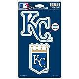 "MLB Kansas City Royals WCR62484014 Magnets (2 Pack), 5"" x 9"""