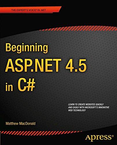 Beginning ASP.NET 4.5 in C# (Experts Voice in .Net) by Brand: Apress
