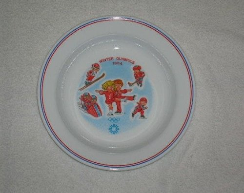 1984 Campbells Soup 1984 Winter Olympics Plate Mint Condition ()