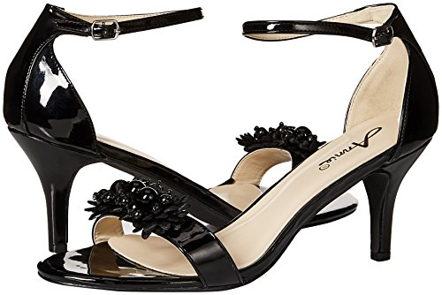 W Lively Sandal Women's Annie Dress Negro Shoes q1E6xt