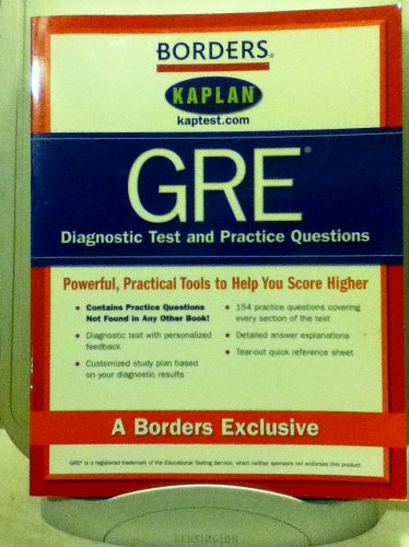 Borders Gre Diagnostic Tests and Practice Questions