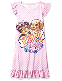 Puppy in My Pocket Girls' Ruffle Nightgown