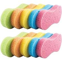 Benail 10 Pack Car Wash Sponges Multi-functional Sponge Multi-color Cleaning Sponges with Vacuum Compressed Packing