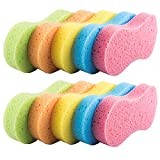 Benail 10 Pack Car Wash Sponges Multi-functional Sponge Multi-color Cleaning Sponges with Vacuum Compressed Packing