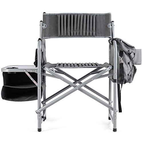 CHOOSEandBUY Folding Compact Director's Chair w/Cup Holder and Side Table Folding Compact Director's Chair w/Cup Holder and Side Table by CHOOSEandBUY