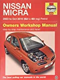 Nissan Micra Owner's Workshop Manual: 03-10 by Anon (2015-05-22)