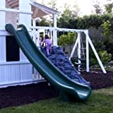 Scoop Slide 7 Foot High Deck - Green