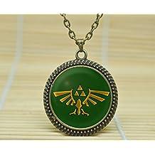 MagicalYeah Legend Of Zelda Necklace Glass Cabochon Necklace A3225